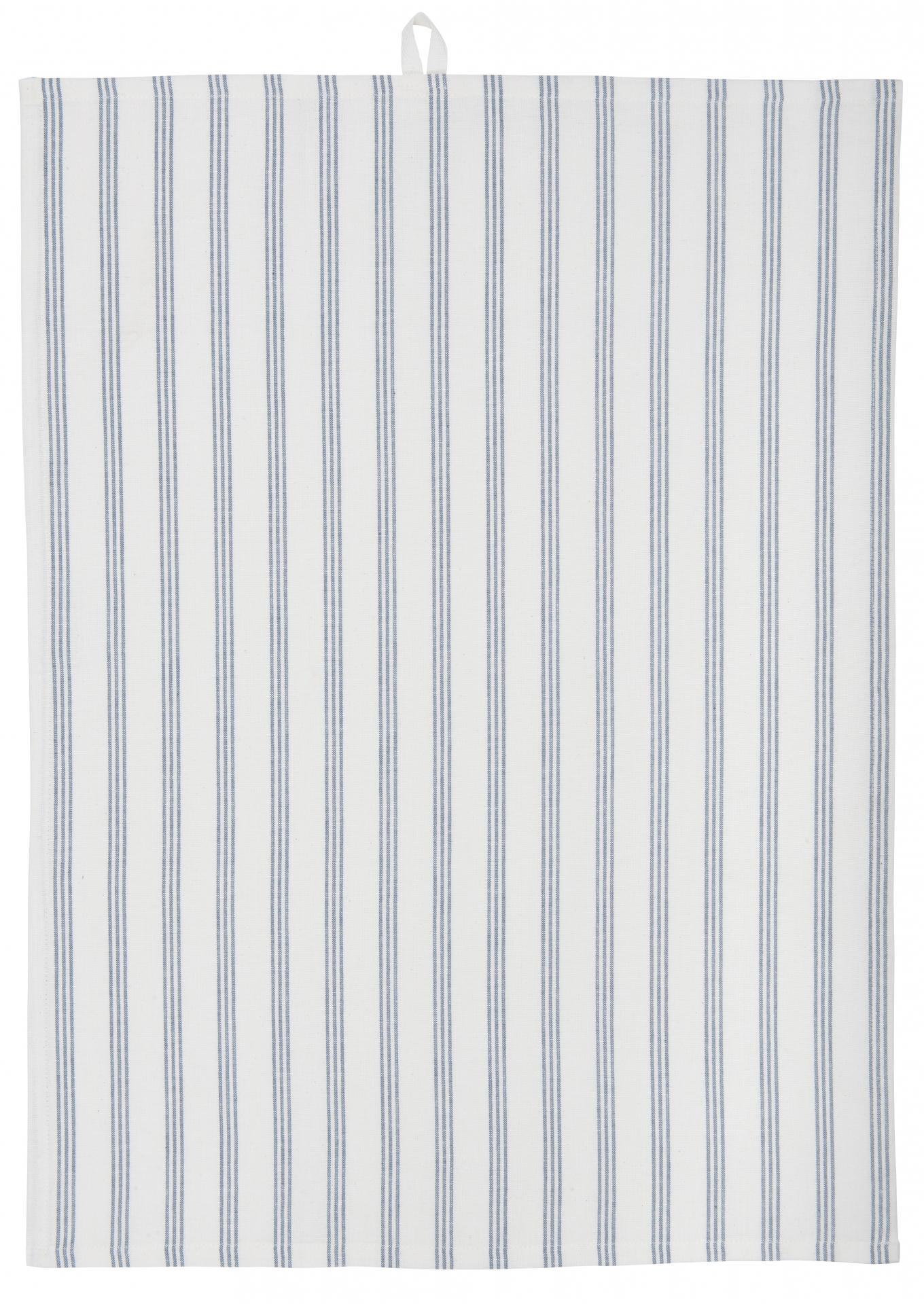 IB LAURSEN Utěrka Stripes Blue
