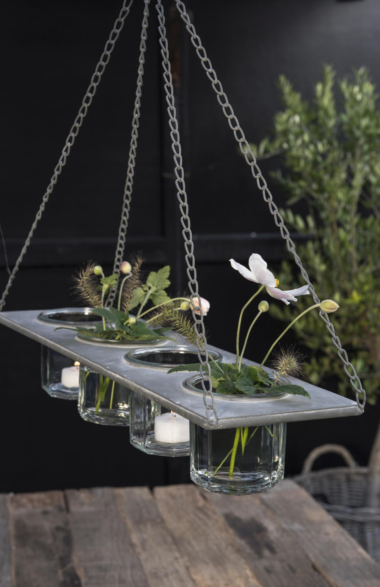 IB LAURSEN Závěsný kovový držák na vázičky/květináče