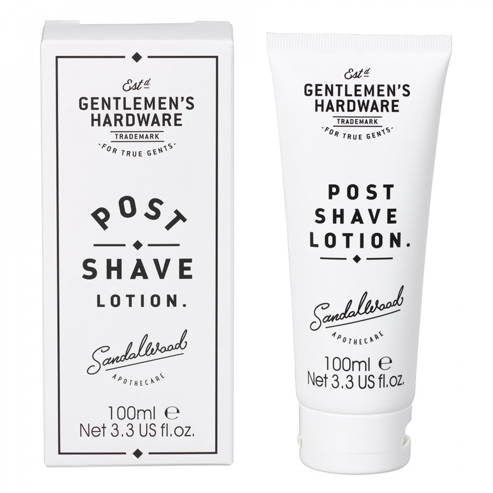 Gentlemen's Hardware Balzám po holení Sandalwood 100 ml, černá barva, bílá barva, plast, papír