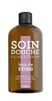 COMPAGNIE DE PROVENCE Sprchový gel Rosewood 300 ml, růžová barva, hnědá barva, plast