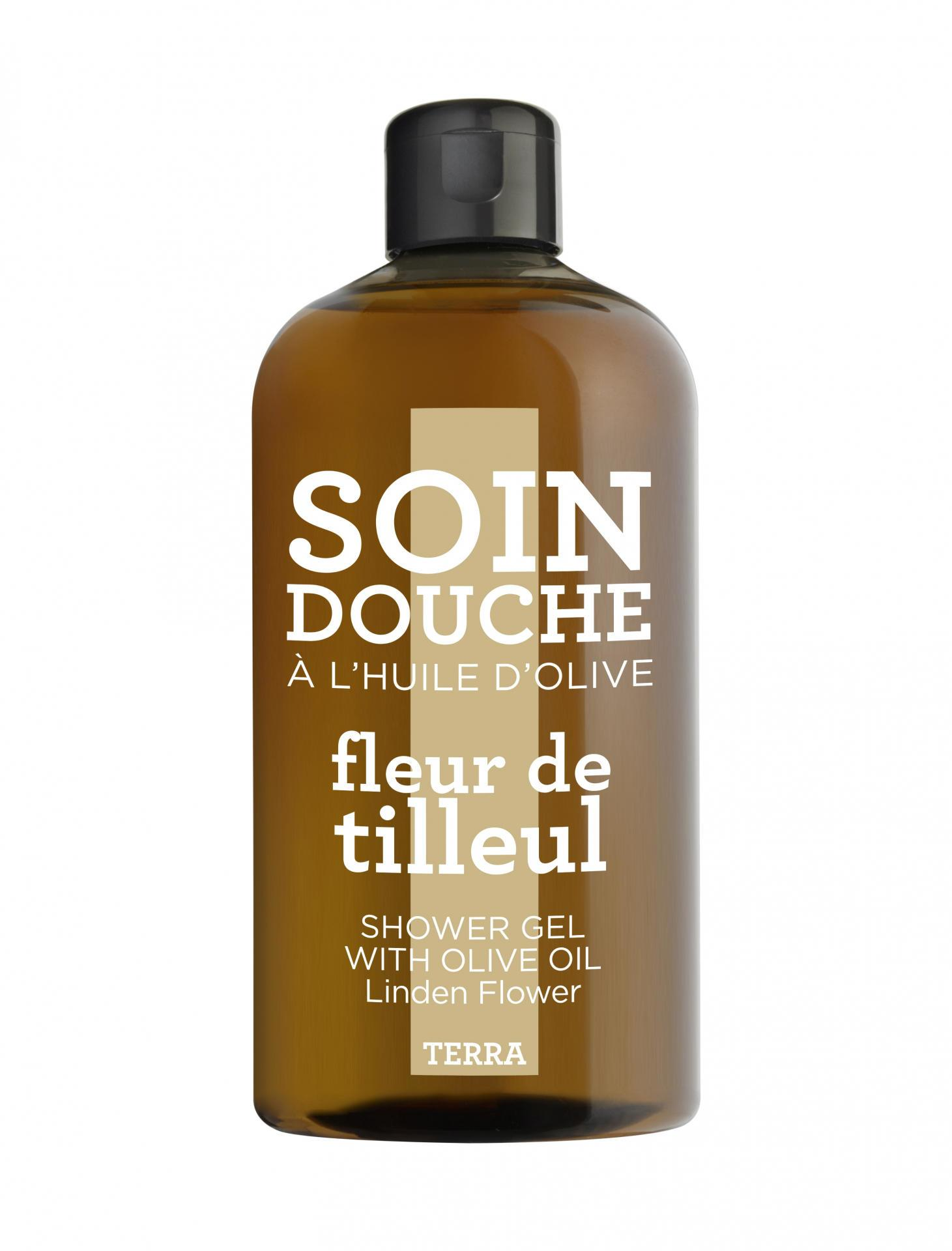 COMPAGNIE DE PROVENCE Sprchový gel Lipový květ 300 ml, béžová barva, hnědá barva, plast