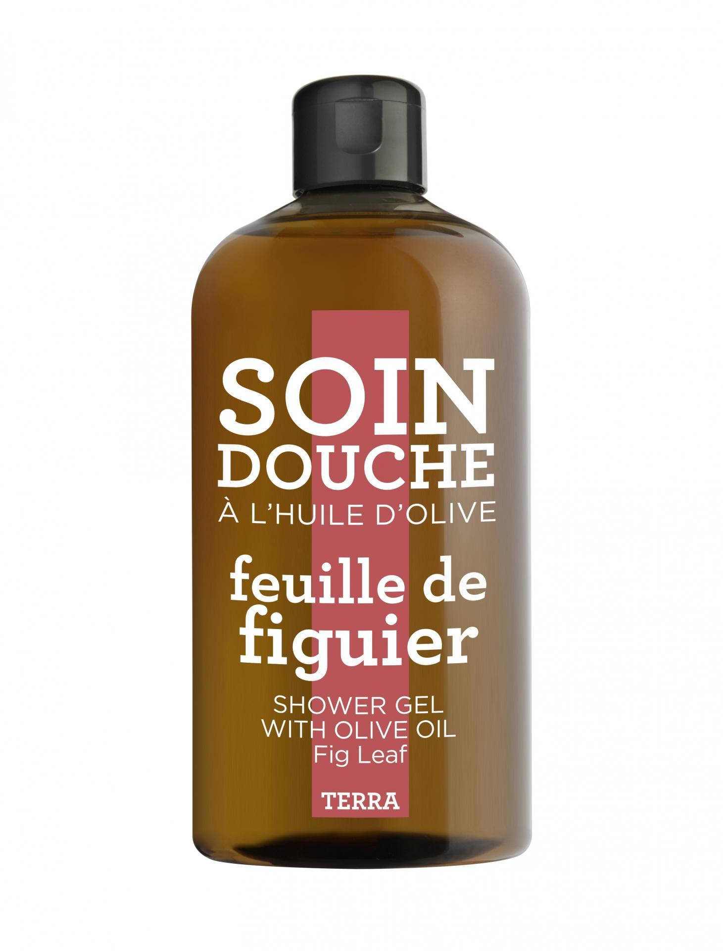 COMPAGNIE DE PROVENCE Sprchový gel Fíky 300 ml, červená barva, hnědá barva, plast