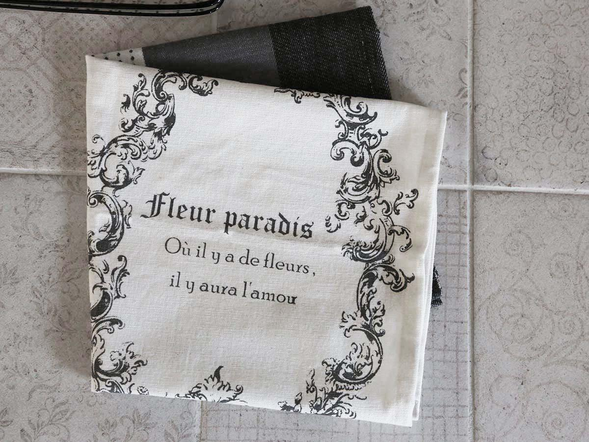 Chic Antique Kuchyňská utěrka French Printing