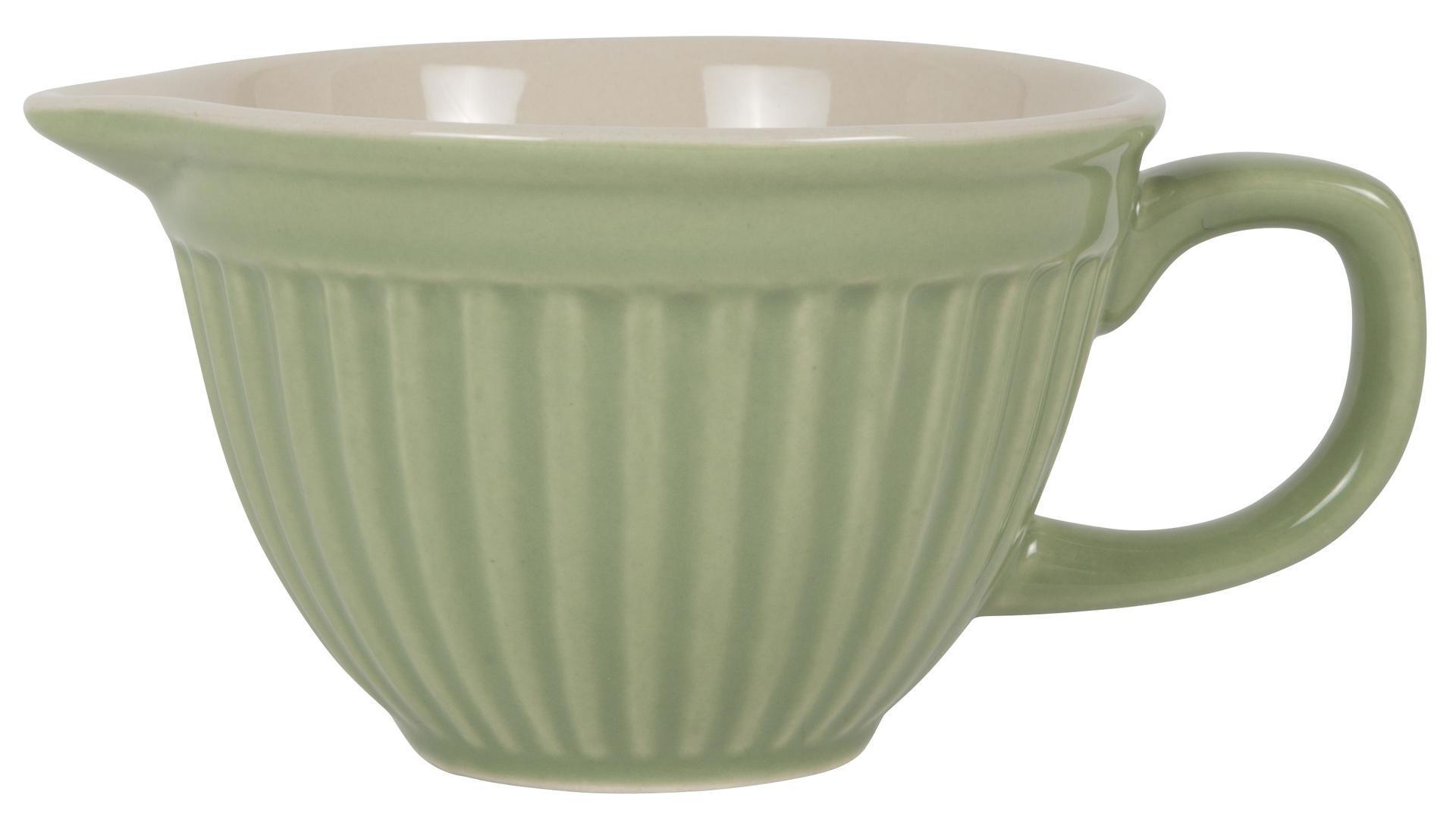 IB LAURSEN Mini mísa na těsto Mynte Meadow green, zelená barva, keramika