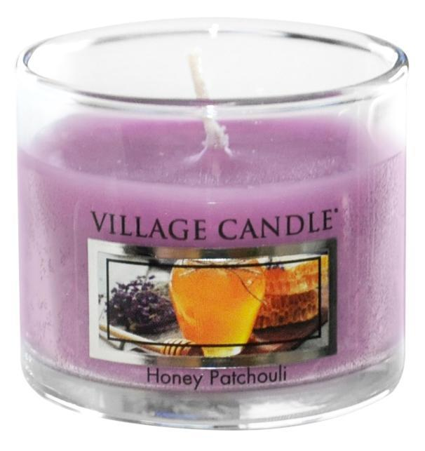 Village Candle Mini svíčka Village Candle - Honey Patchouli