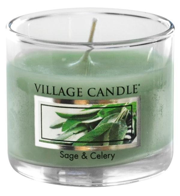 Village Candle Mini svíčka Village Candle - Sage and Celery