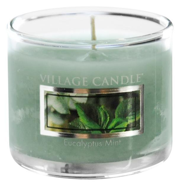Village Candle Mini svíčka Village Candle - Eucalyptus Mint