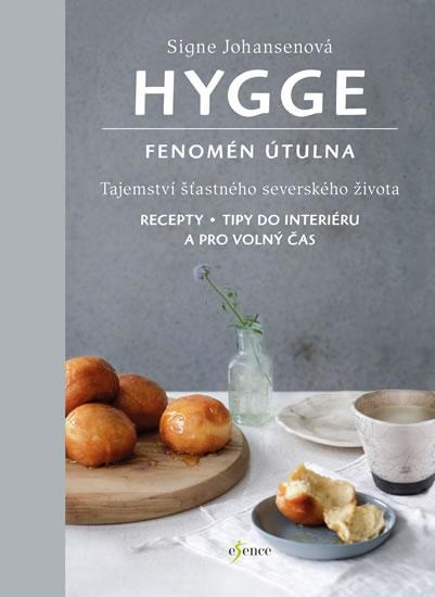 Kniha Hygge: Fenomén útulna - Signe Johansenová, šedá barva, papír