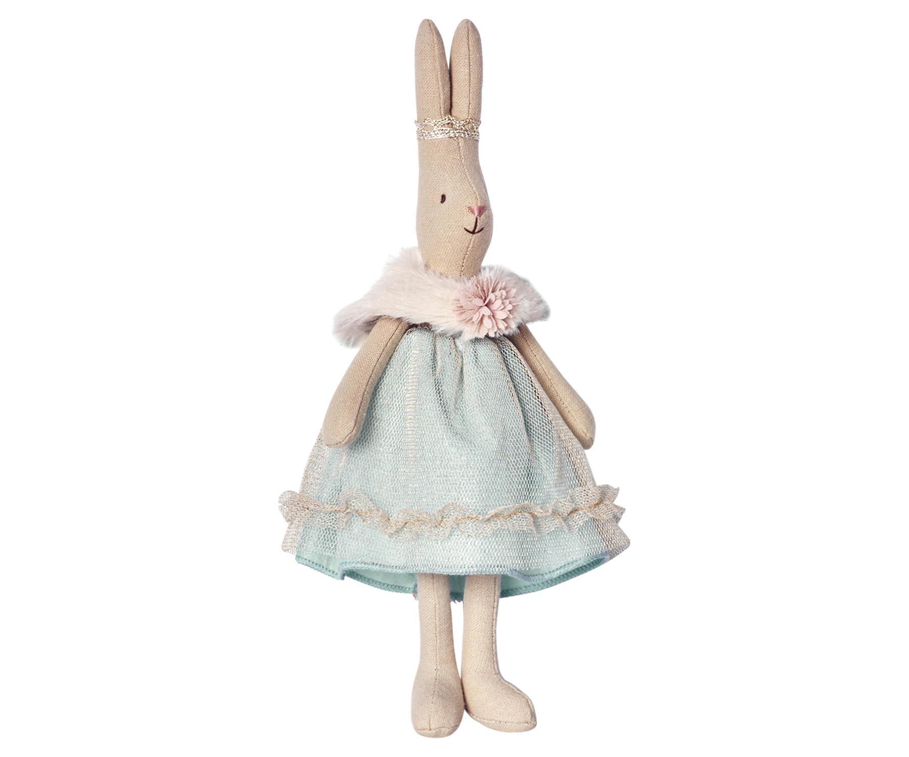 Maileg Zaječí princezna Sofie - mini, béžová barva, textil