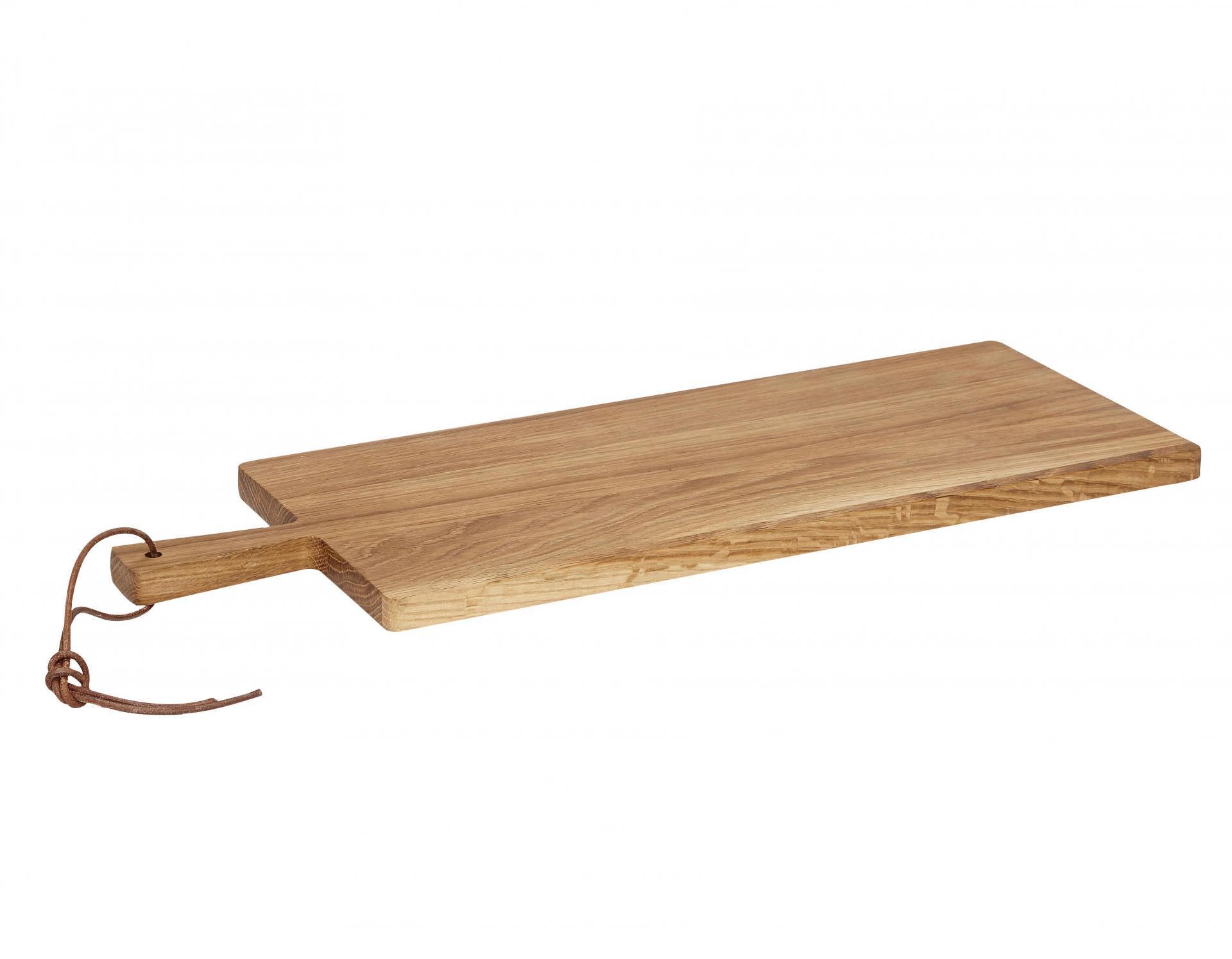 Hübsch Dubové prkénko na krájení 20x56 cm