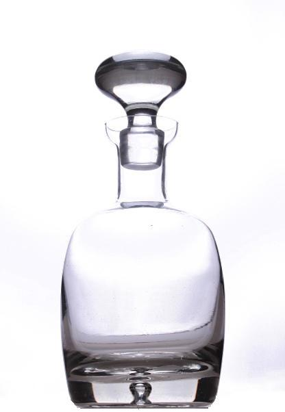 CÔTÉ TABLE Skleněná karafa se zátkou Spirit 1 l, čirá barva, sklo