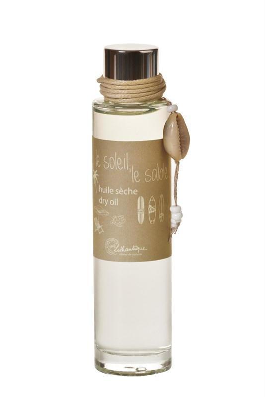Lothantique Suchý tělový olej Le soleil 50ml, béžová barva, sklo