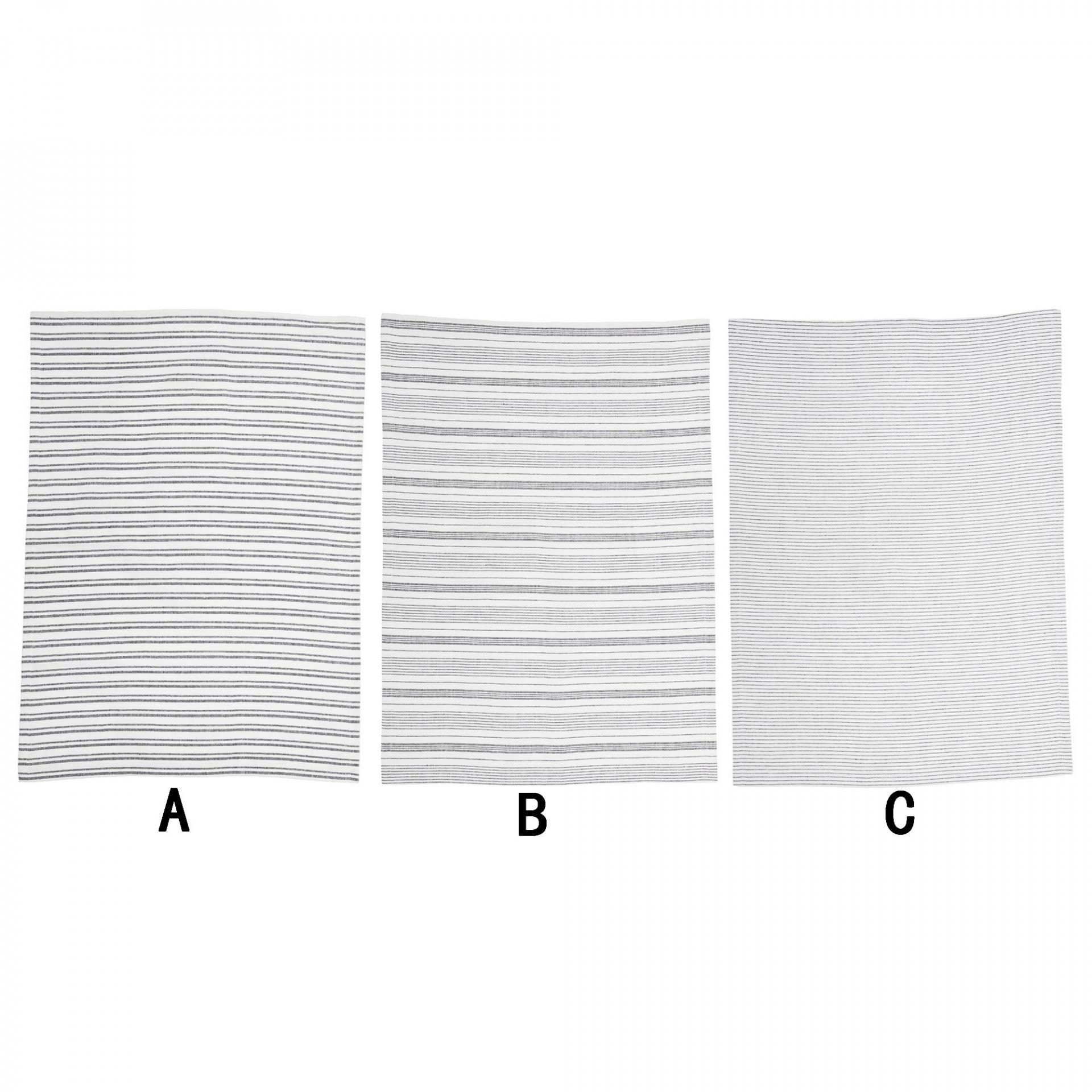 Bloomingville Kuchyňská utěrka Stripe Typ A, bílá barva, textil