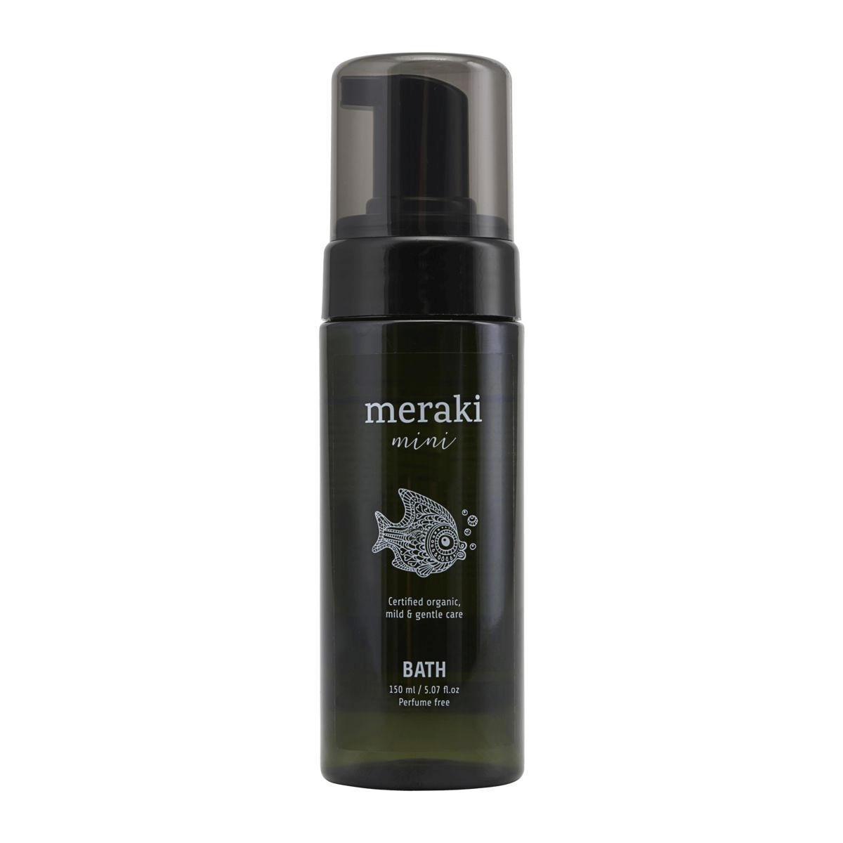 meraki Dětské tekuté mýdlo Meraki mini 150 ml, zelená barva, plast