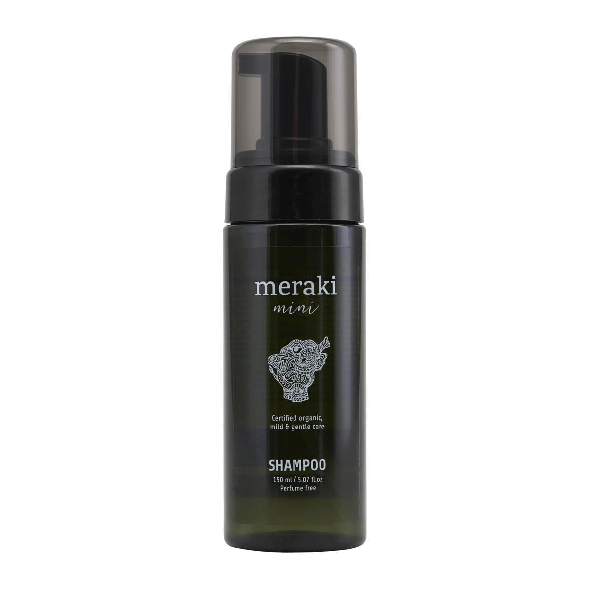 meraki Dětský šampon Meraki mini 150 ml, zelená barva, plast