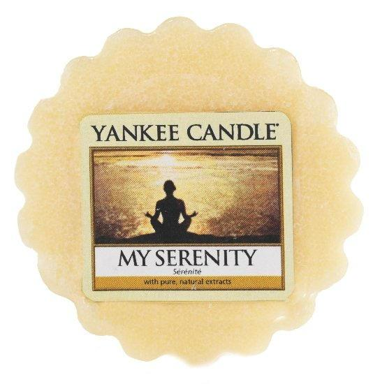 Yankee Candle Vosk do aromalampy Yankee Candle - My Serenity, žlutá barva, vosk