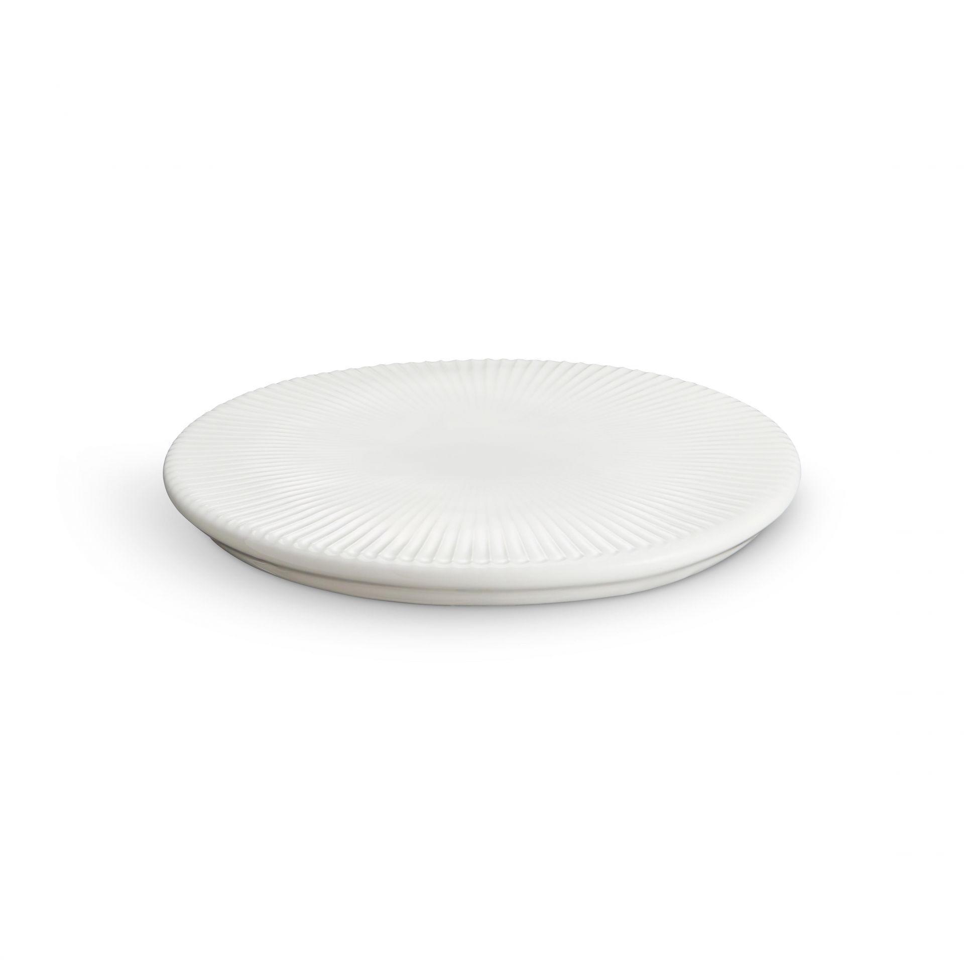 KÄHLER Keramický servírovací talířek Hammershøi White, bílá barva, keramika