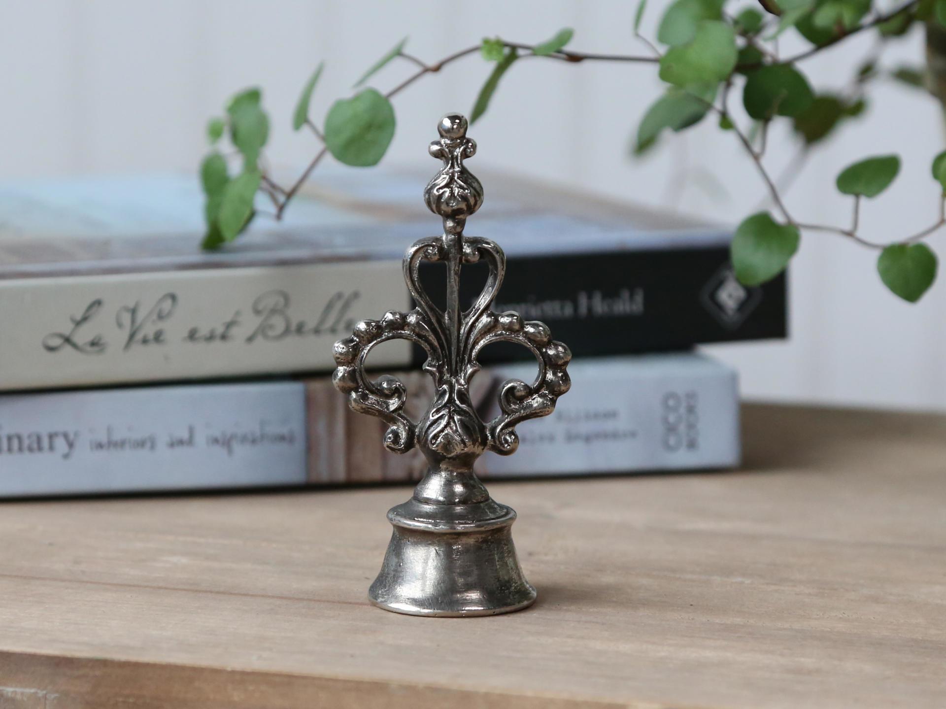 Chic Antique Zhasínátko na svíčky Antique Silver, stříbrná barva, kov