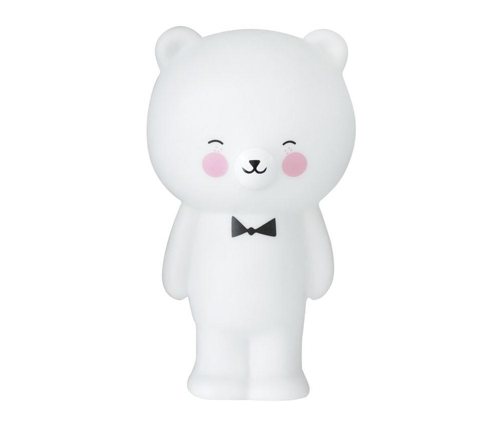 EEF lillemor Noční lampička Polar Bear, bílá barva, plast