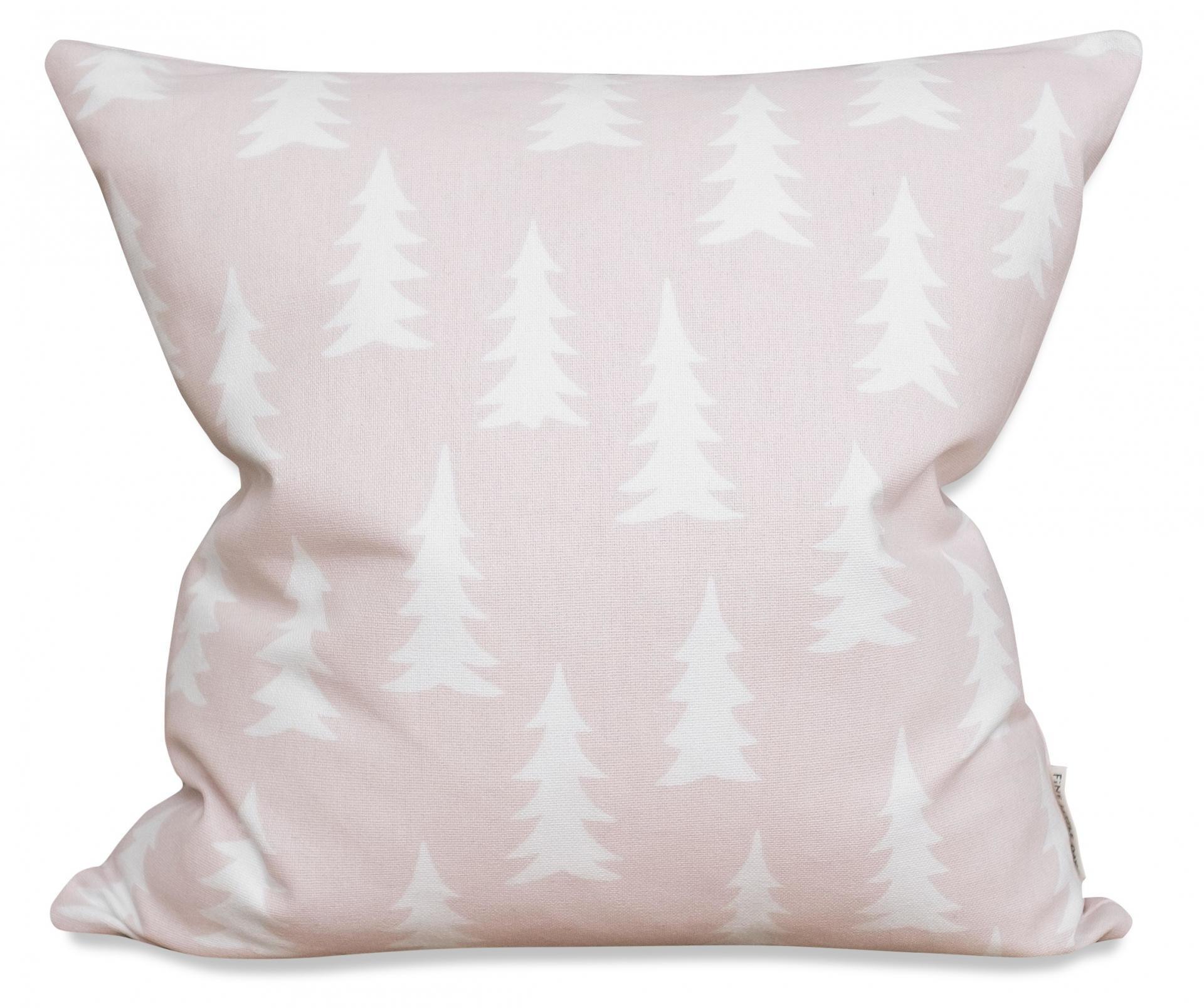 Fine Little Day Povlak na polštář Gran Powder 50x50 cm, růžová barva, textil
