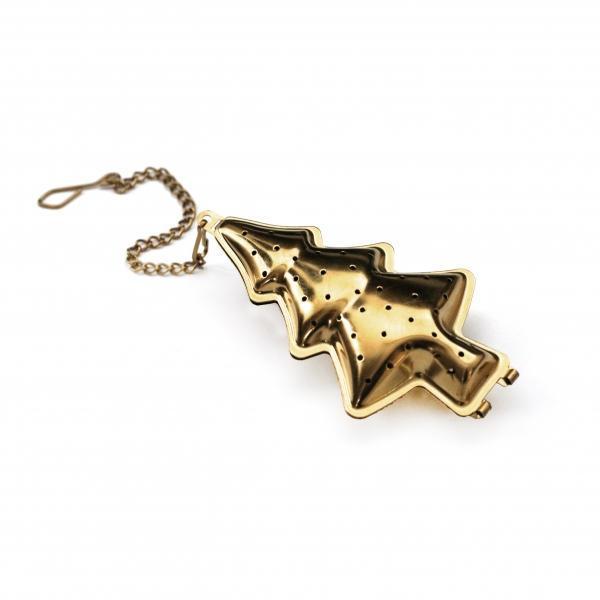 TAFELGUT Sítko na čaj Gold Tree, zlatá barva, kov