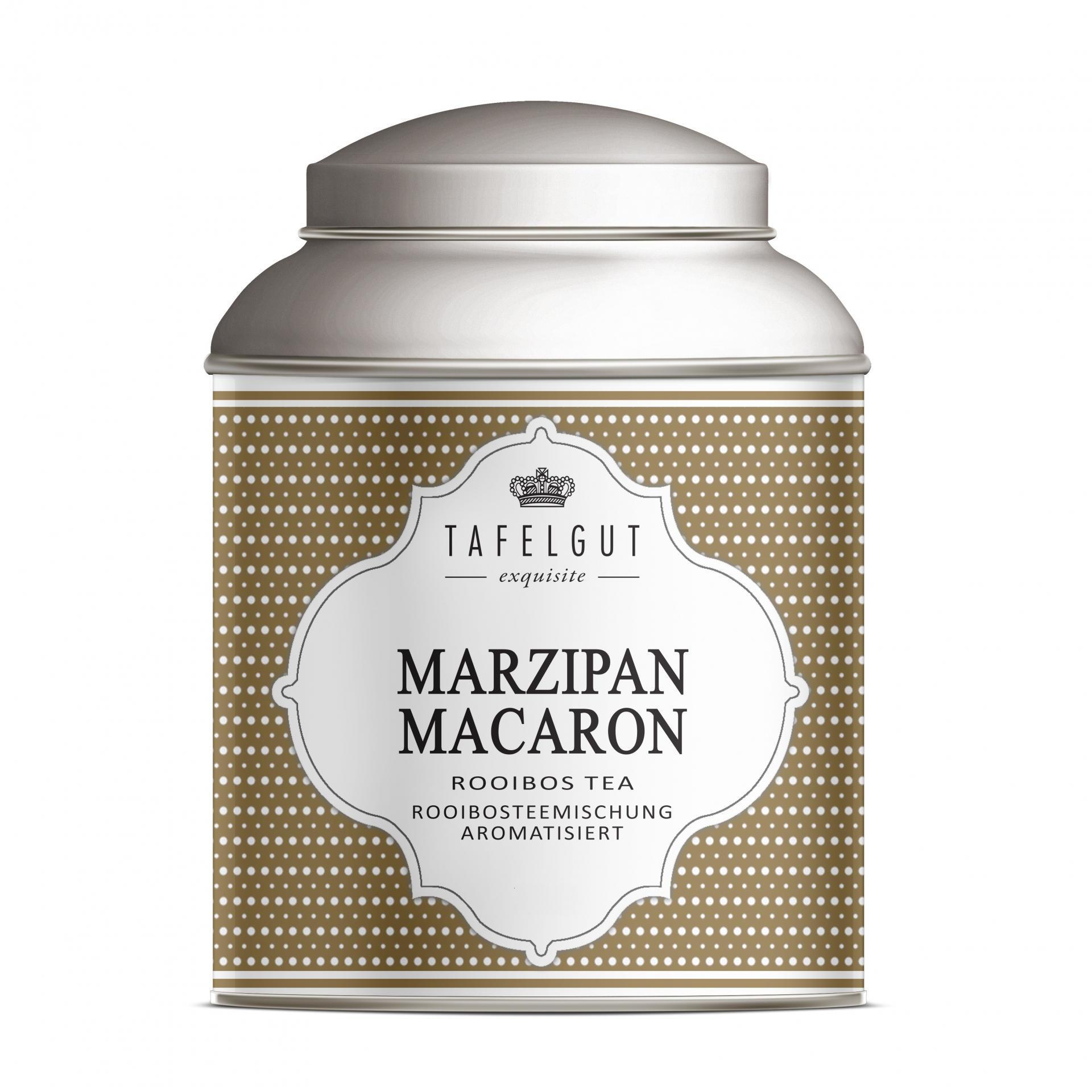 TAFELGUT Mini rooibos čaj Marzipan Macaron - 40gr, měděná barva, kov