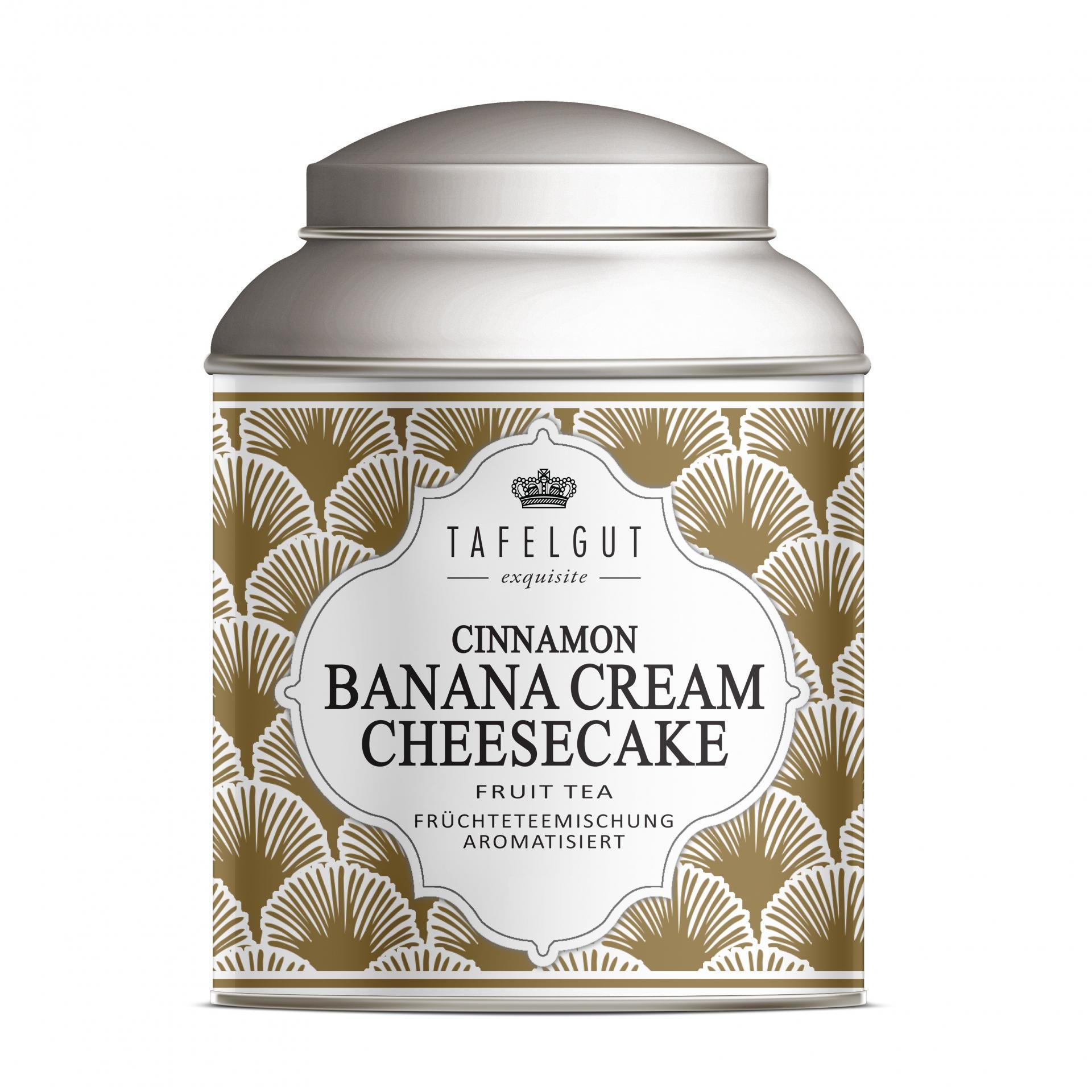 TAFELGUT Mini čaj Cinnamon Banana Cream Cheesecake - 40gr, měděná barva, kov