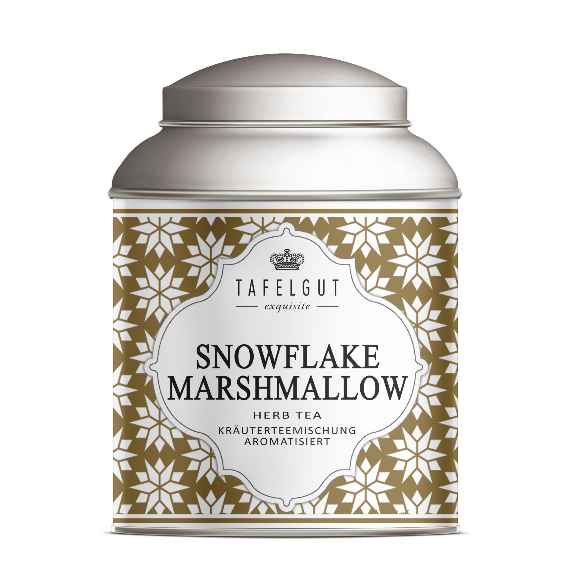 TAFELGUT Mini bylinný čaj Snowflake Marshmallow - 25gr, měděná barva, kov