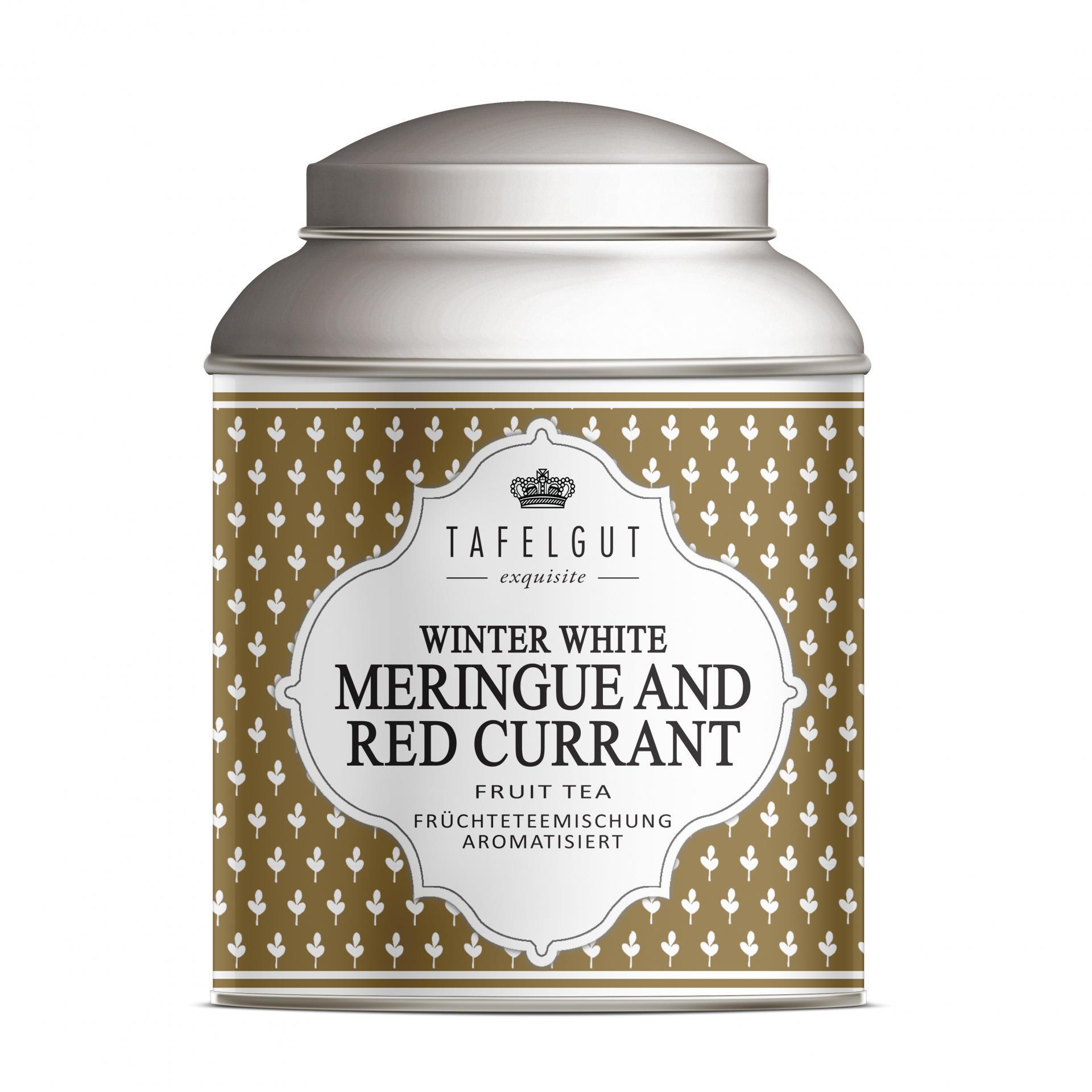 TAFELGUT Mini ovocný čaj Meringue and Red Currant - 35gr, měděná barva, kov