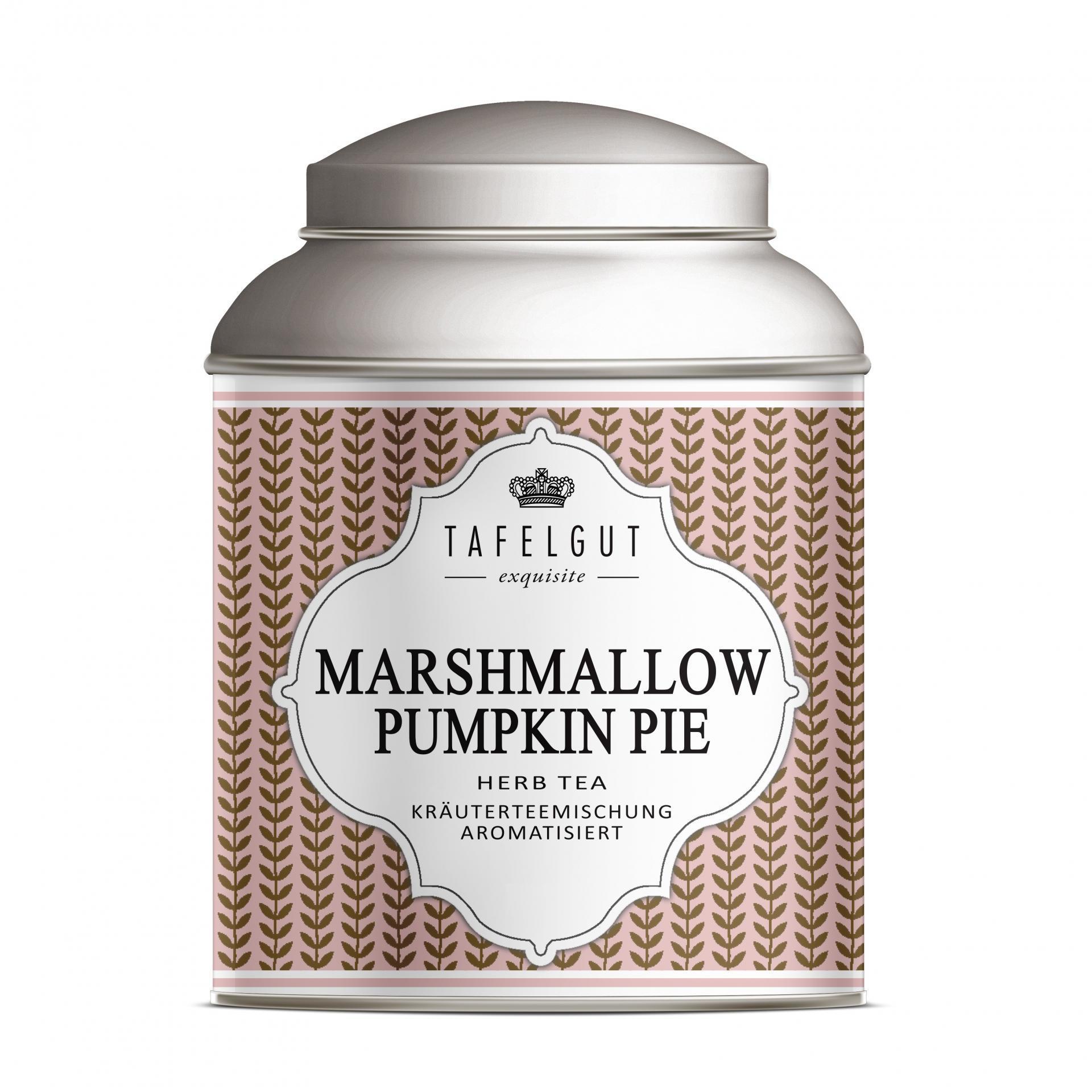 TAFELGUT Mini bylinný čaj Marshmallow Pumpkin Pie - 25gr, růžová barva, měděná barva, kov