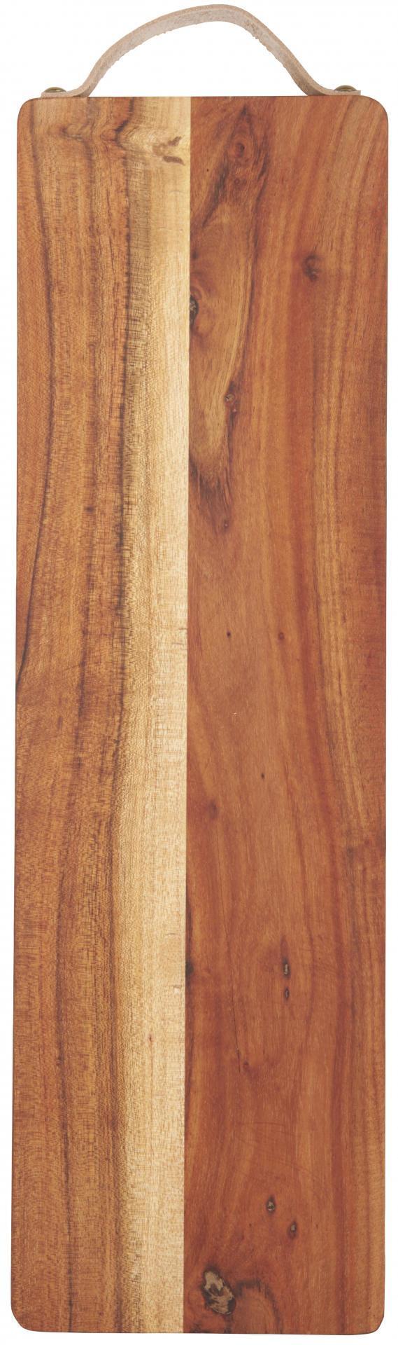 IB LAURSEN Dřevěné prkénko Oiled Acacia - větší, hnědá barva, přírodní barva, dřevo