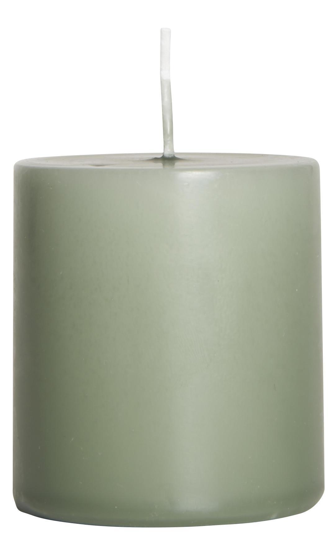 IB LAURSEN Svíčka Moss green 7 cm, zelená barva, vosk