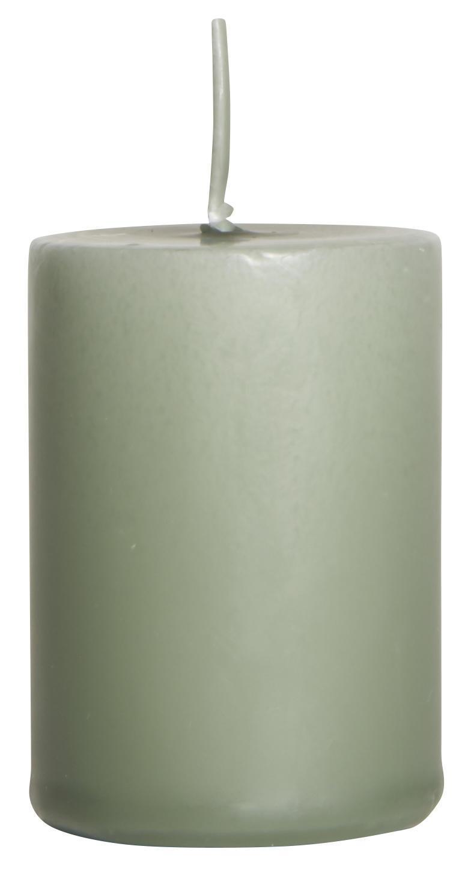 IB LAURSEN Svíčka Moss green 6 cm, zelená barva, vosk