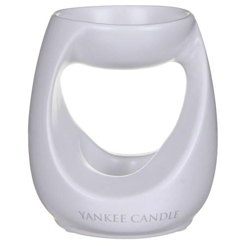 Yankee Candle Aromalampa Yankee Candle White, bílá barva, porcelán