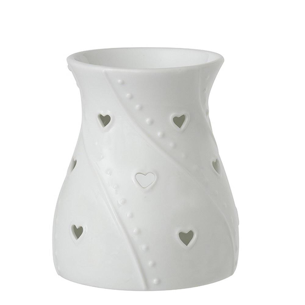 Yankee Candle Aromalampa Yankee Candle Hearts, bílá barva, porcelán