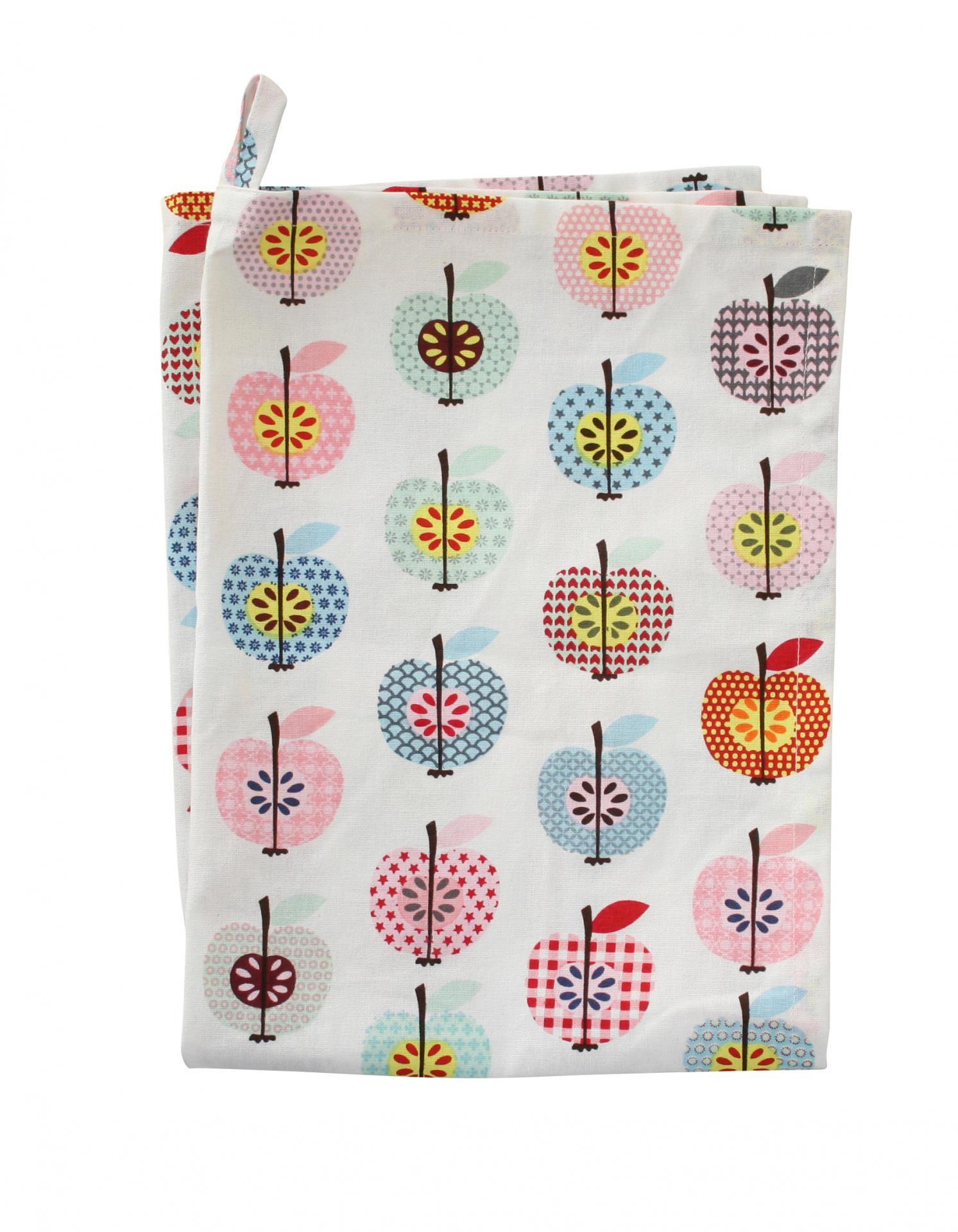 Krasilnikoff Utěrka Apple, multi barva, textil