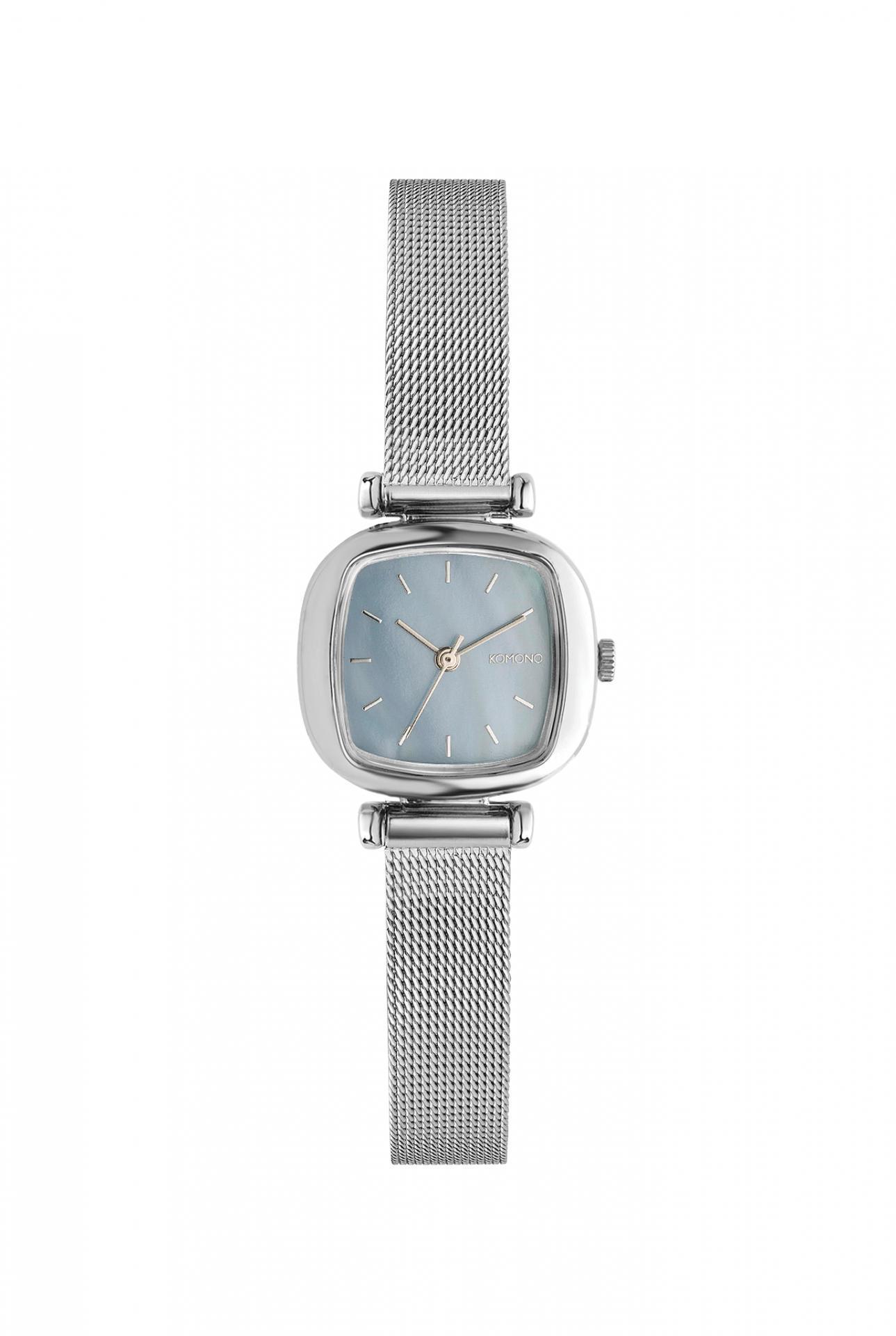 Komono Dámské hodinky Komono Moneypenny Royale Silver, stříbrná barva, kov