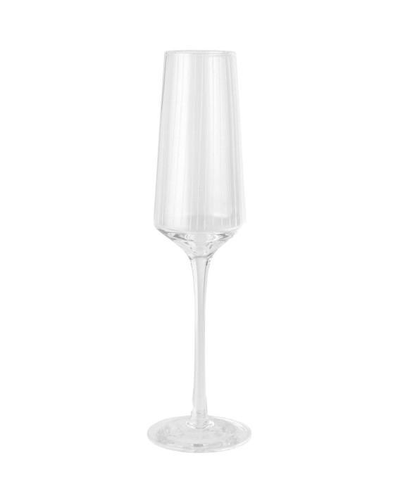 IB LAURSEN Sklenička na šampaňské Vega, čirá barva, sklo