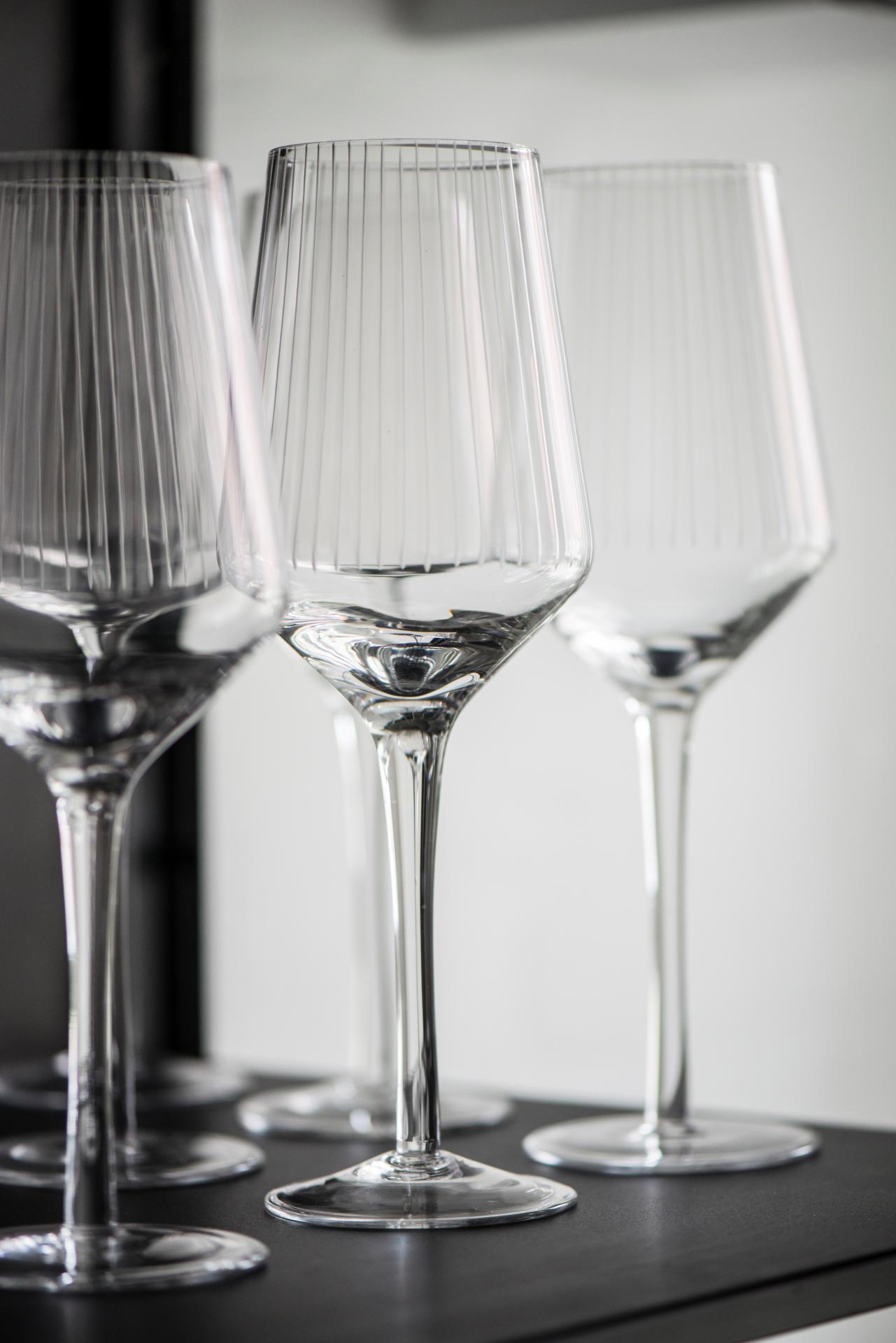 IB LAURSEN Sklenička na červené víno Vega, čirá barva, sklo