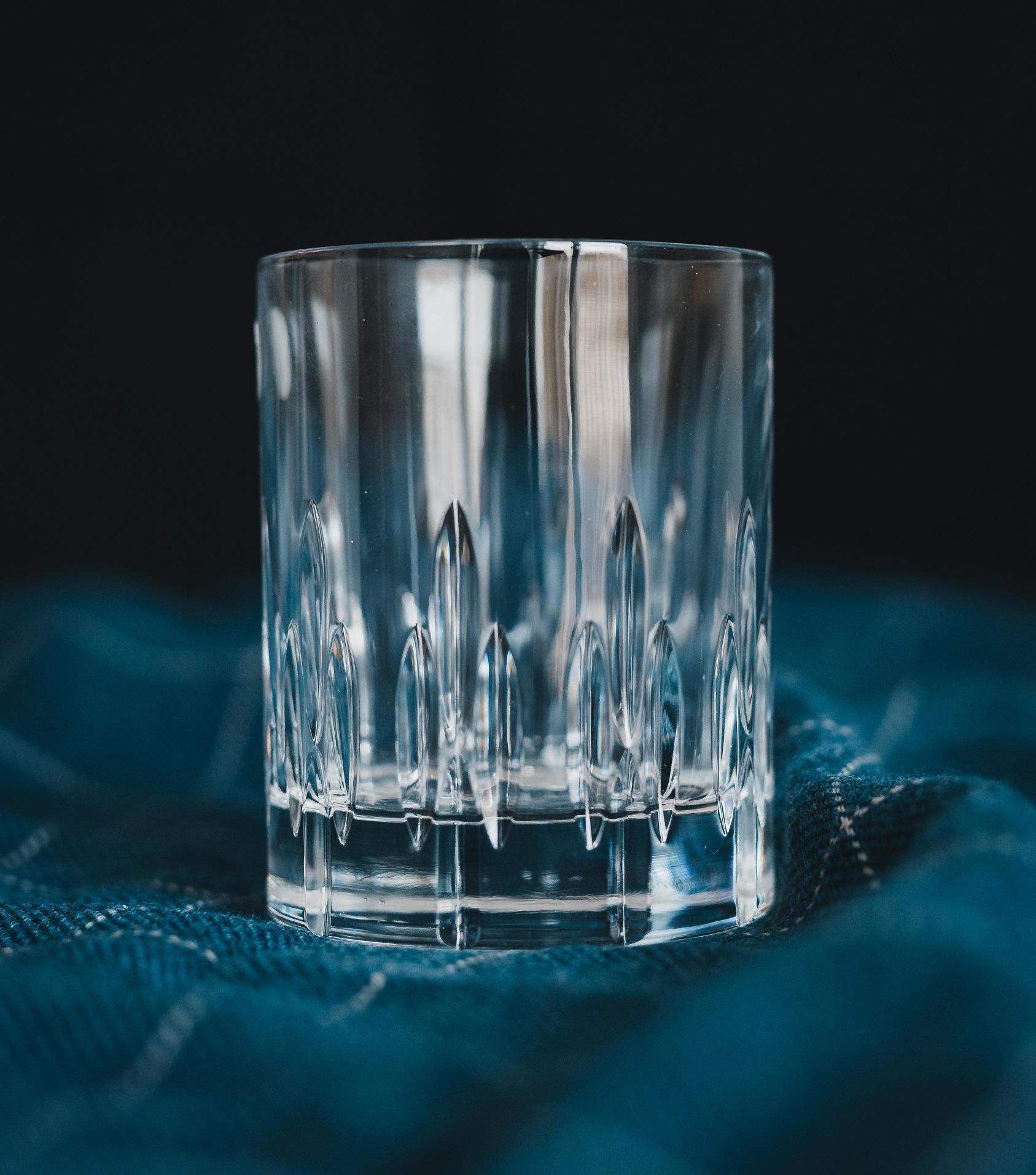 CRYSTAL BOHEMIA Křišťálová sklenice na whisky Halberd Crystal BOHEMIA, čirá barva, sklo