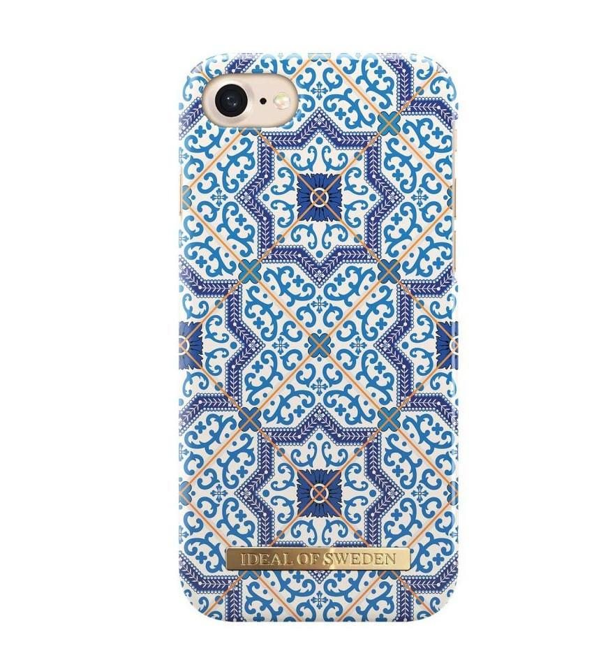 iDeal of Sweden Kryt na iPhone 6/6s/7/8 iDeal of Sweden Marrakech, modrá barva, plast