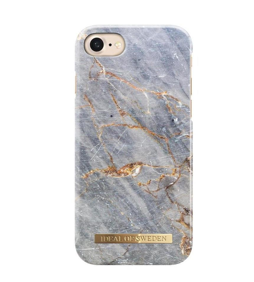 iDeal of Sweden Kryt na iPhone 6/6s/7/8 iDeal of Sweden Royal Grey Marble, šedá barva, plast