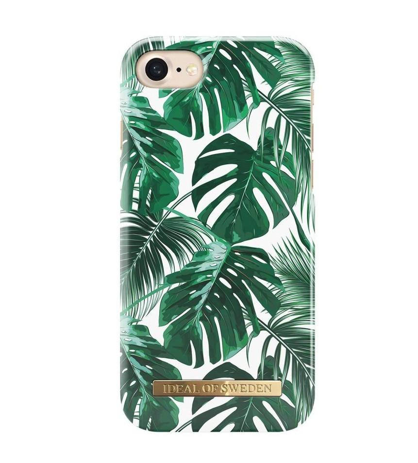iDeal of Sweden Kryt na iPhone 6/6s/7/8 iDeal of Sweden Monstera Jungle, zelená barva, bílá barva, plast