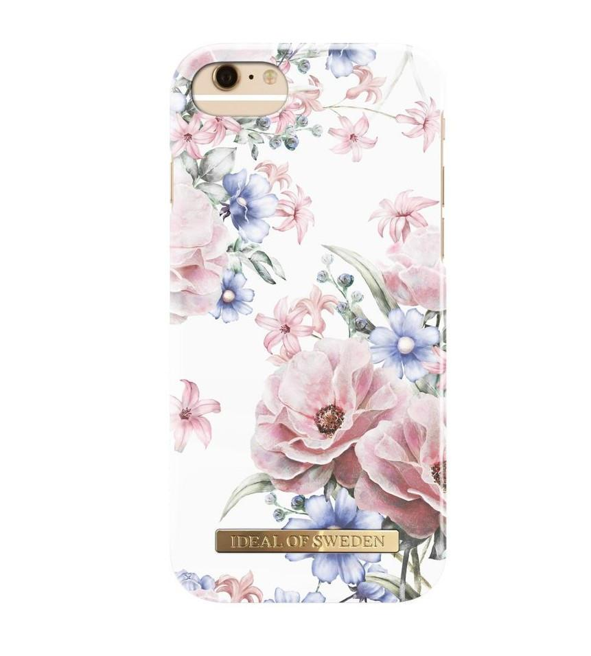 iDeal of Sweden Kryt na iPhone 6/6s/7/8 Floral Romance, bílá barva, plast