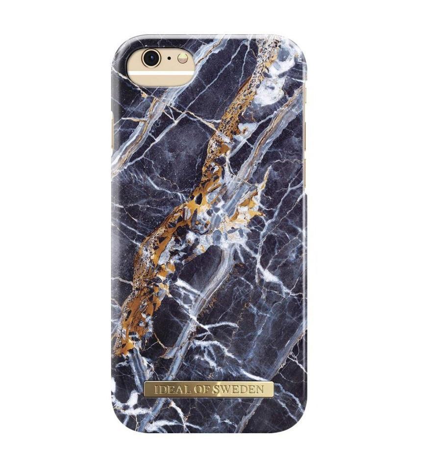 iDeal of Sweden Kryt na iPhone 6/6s/7/8 iDeal of Sweden Blue Marble, modrá barva, černá barva, plast