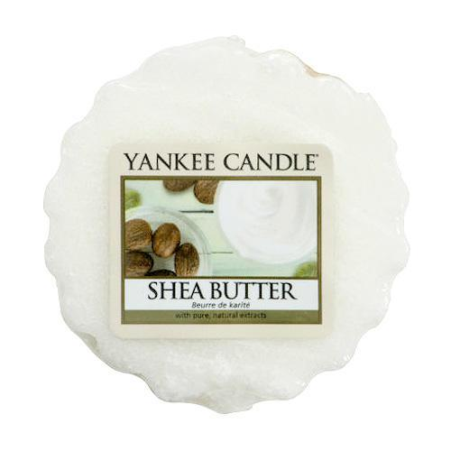 Yankee Candle Vosk do aromalampy Yankee Candle - Shea Butter, bílá barva, vosk