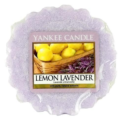 Yankee Candle Vosk do aromalampy Yankee Candle - Lemon Lavender, fialová barva, vosk