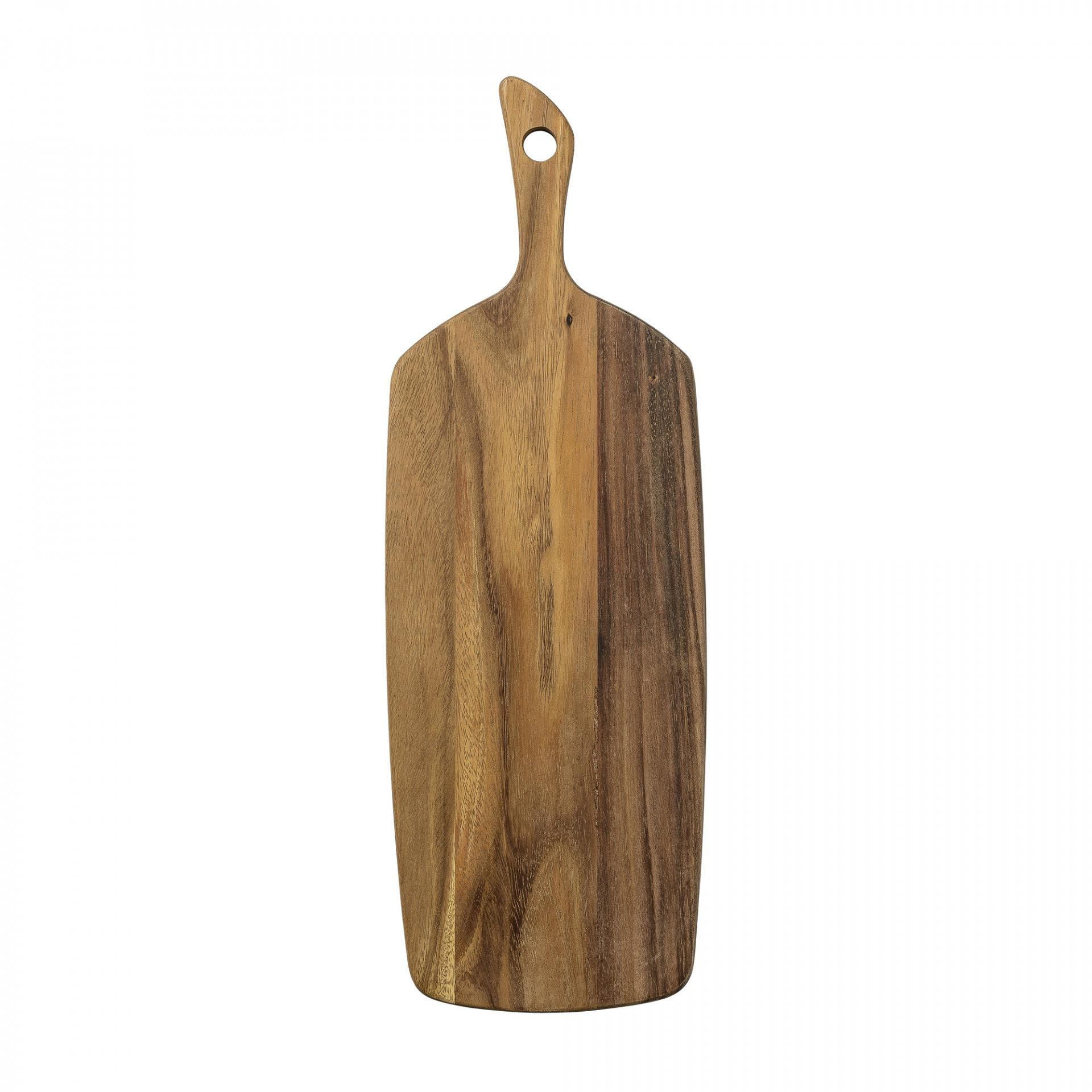 Bloomingville Dřevěné prkénko Nature užší, hnědá barva, dřevo