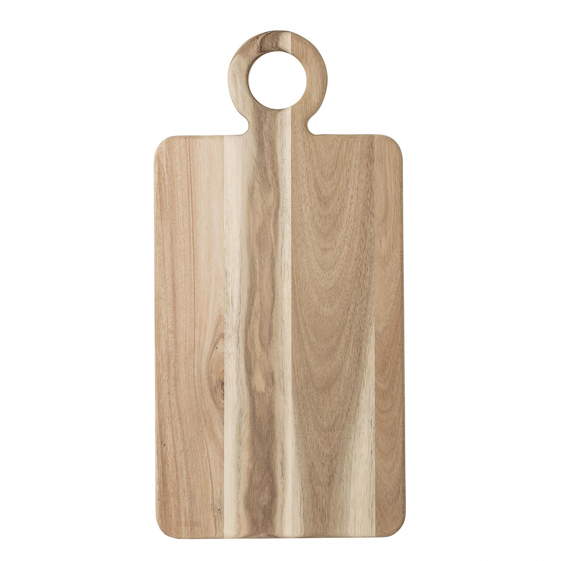 Bloomingville Krájecí prkénko Brown Acacia velké, hnědá barva, dřevo
