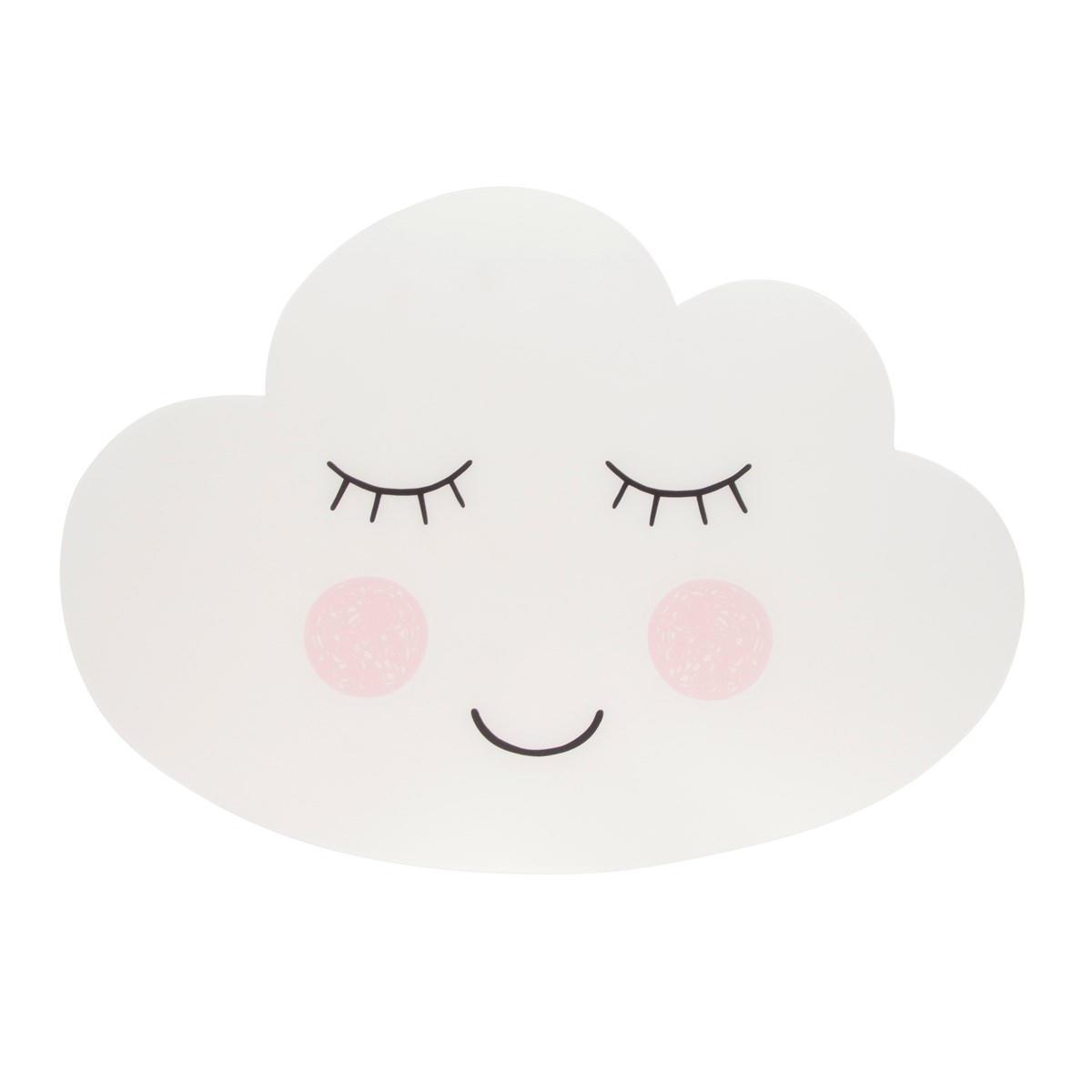 sass & belle Prostírání Cloud, bílá barva, plast